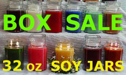 Soy Candles ~ Maximum Scent Tarts ~ Country Heart Soy Candles